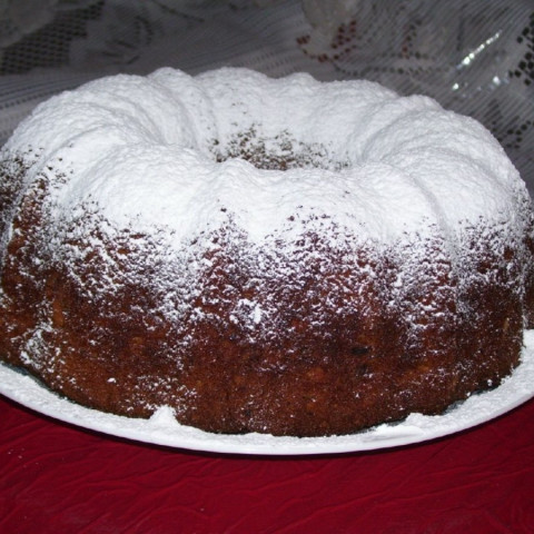 Banana Walnut Bundt Cake