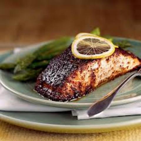 Barbecue Roasted Salmon (1+)