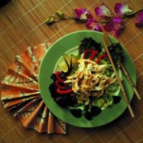 Barbecued Thai Chicken Salad