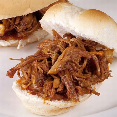Barbequed Pulled Pork Sandwiches