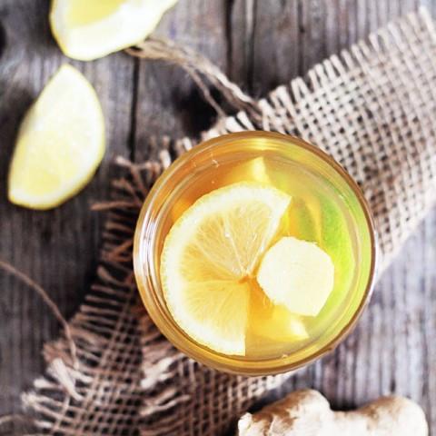 Bedtime: Ginger Lemon Tea