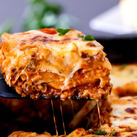 Beef And Pumpkin Lasagna