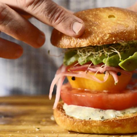 Beefsteak Tomato Sandwich