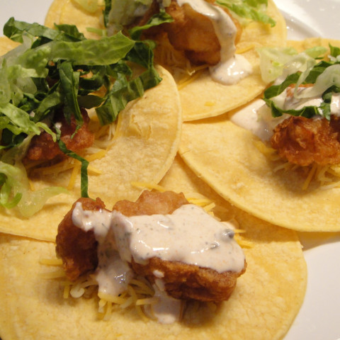 Beer batter fish tacos for Beer battered fish tacos recipe