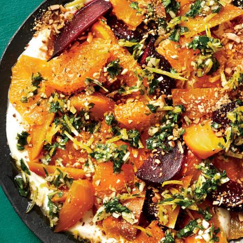 Beet and Citrus Salad With Almond Gremolata