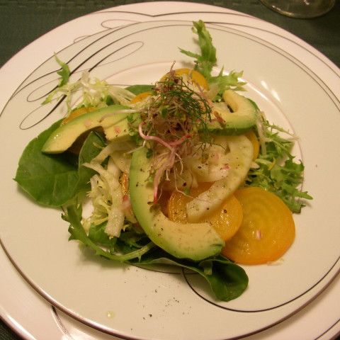 Beet, Fennel & Avocado Salad