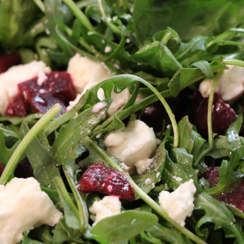 Beetroot, Rocket & Goat Cheese Salad