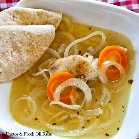 Belize's Escabeche Soup - Onion Soup