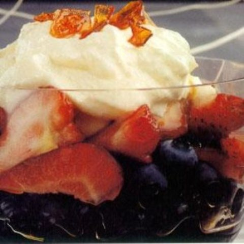 Berries And Cheese Surprise