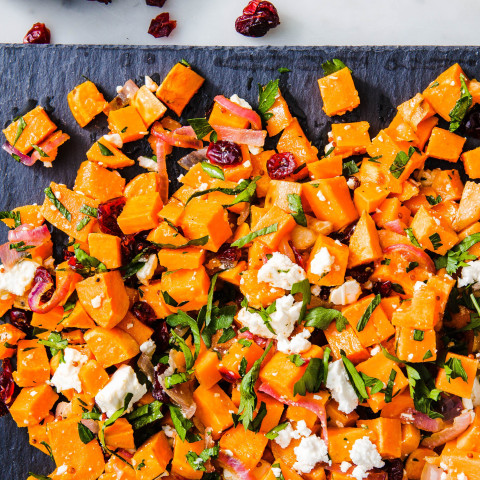 Best Lunch Desk Ever: Sweet Potato Salad