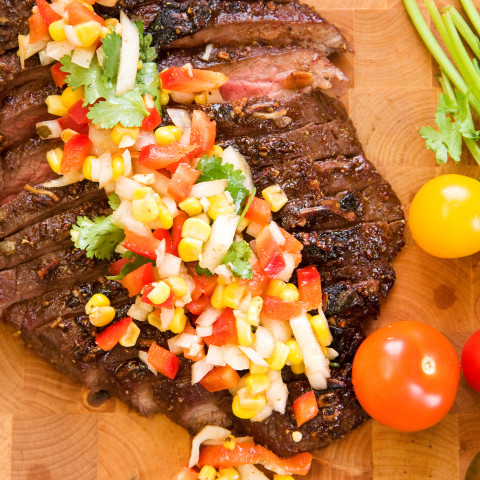 Best Marinated Flank Steak