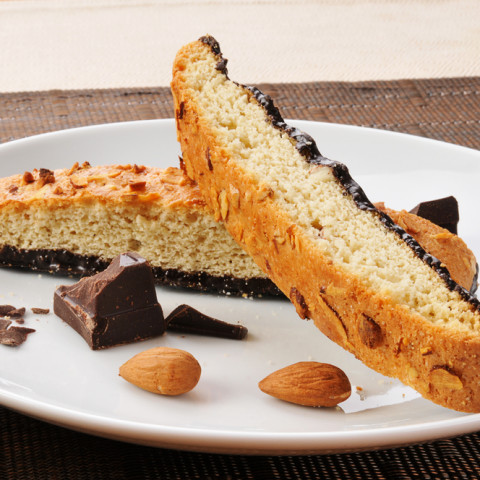 Biscotti, Chocolate Almond [Vegan]