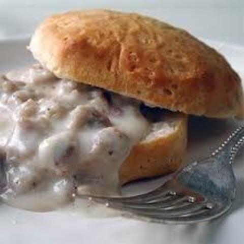 Biscuits & Sausage Gravy