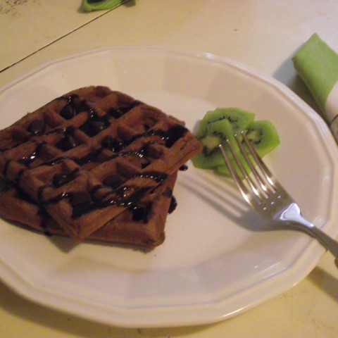 Bisquick Chocolate Waffles