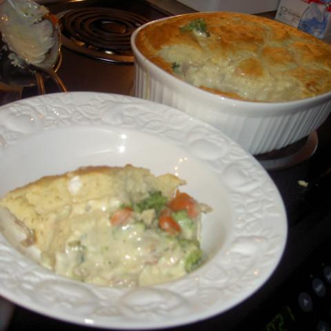 Bisquick Turkey Pot Pie