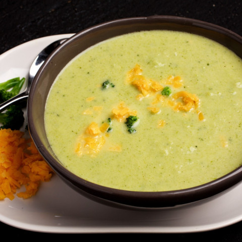 Blender Broccoli Cheese Soup