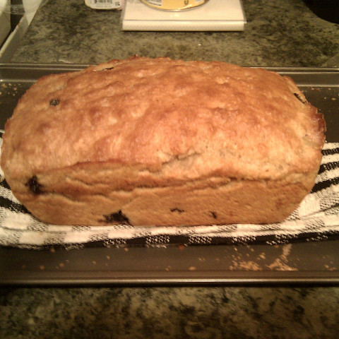 Blueberry Beer Bread