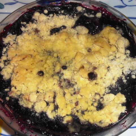 Blueberry Maple Crisp