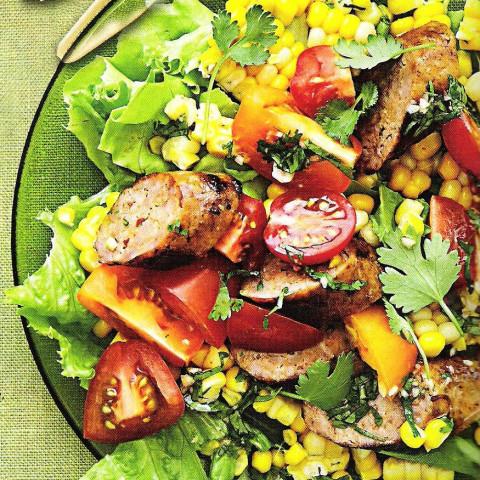 Boerewors and Corn Salad