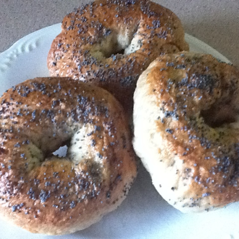 Bread Machine Whole Wheat Bagels. Servings: 8; Ready In 1 hour