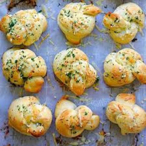 Breadstick Bowknots