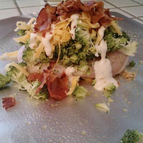Broccoli Cheddar Hobo Chicken