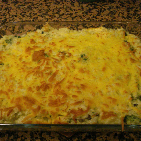 Broccoli, Rice and Cheese Casserole