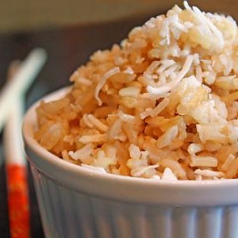 Brown Coconut Rice Recipe
