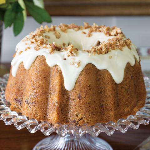 Browned Butter–Pecan Bundt Cake