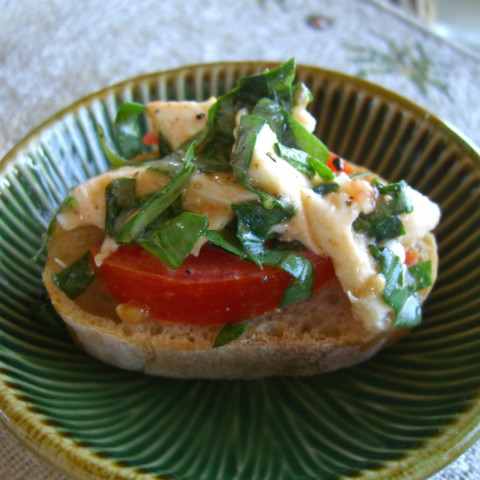 Bruschetta Appetizer