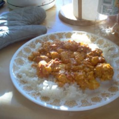 Butter Chicken (Indian Dish)