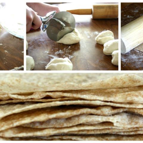 Butter Flour Tortillas
