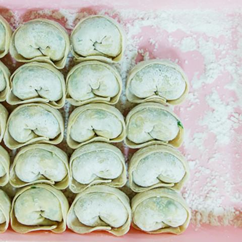 Butter Mandu (Butter dumplings)