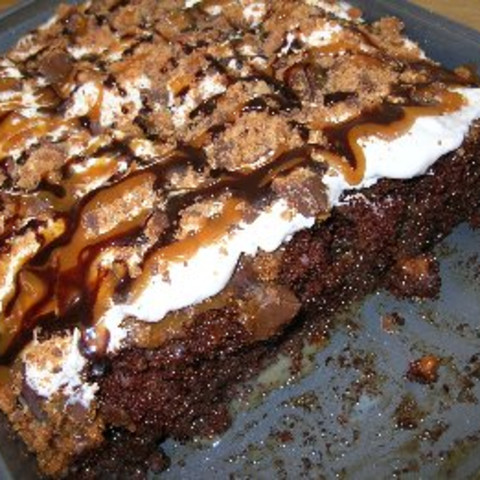 Butterfinger German Chocolate Cake