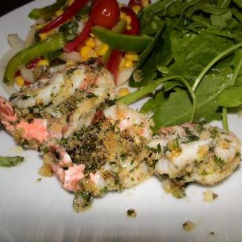 Butterflied Baked Shrimp