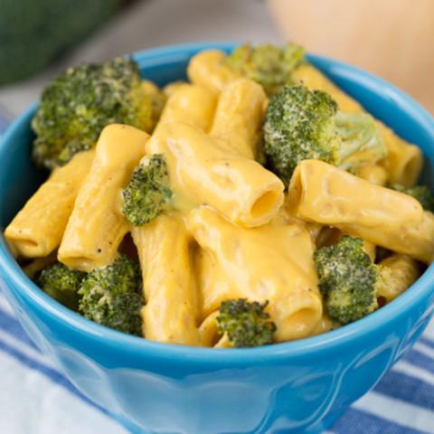 Butternut Squash Alfredo with Broccoli