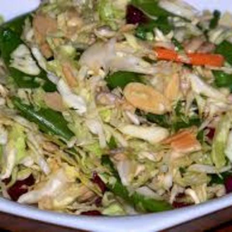 Cabbage - Not Napa! Ramen Noodle Salad