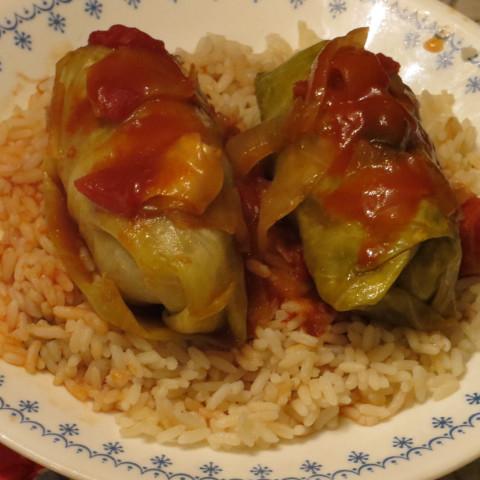 Cabbage Rolls (Healthy, Ground Beef)*