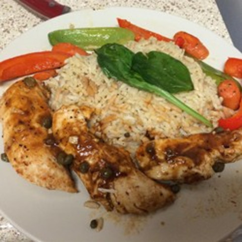 Caper Baked Chicken