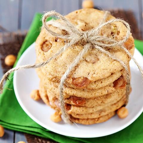 Caramel Pear Cookies