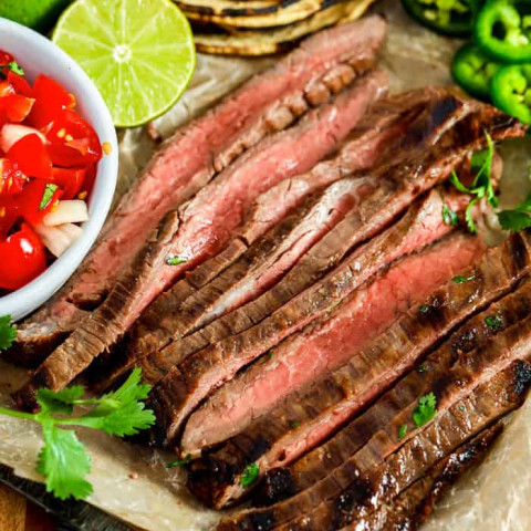 Carne Asada Recipe {Marinated & Grilled Steak!}