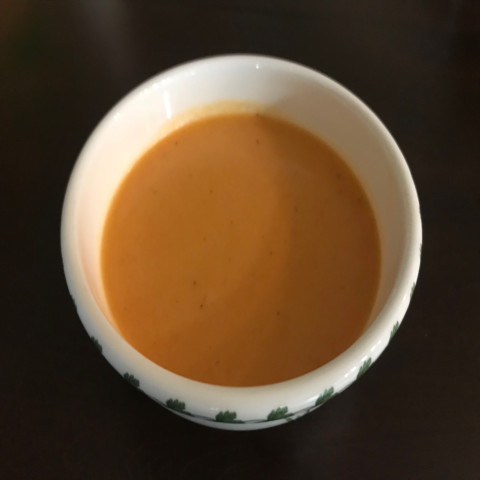 Carrot Parsnip Ginger Soup