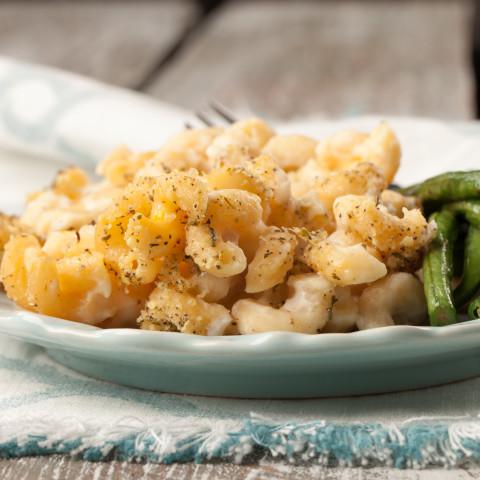 Cauliflower Mac N Cheese