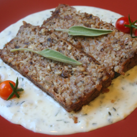 Cheese and Nut Terrine