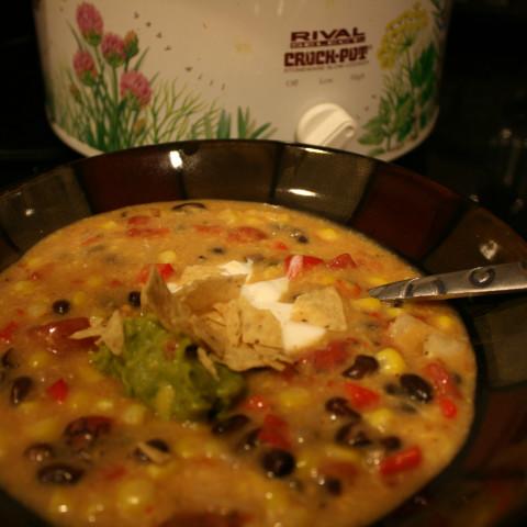 Cheese Enchilada Chowder