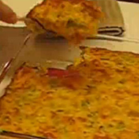 Cheesy Broccoli Rice Casserole Recipe