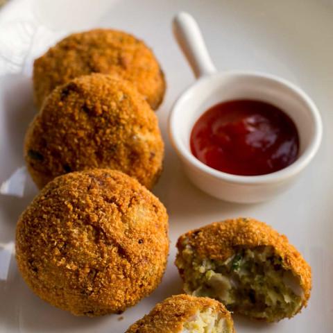 Cheppankizhangu Cutlet, Arbi Cutlet Recipe