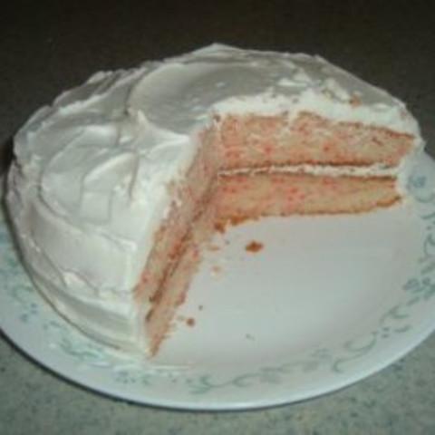 Cherry Chip Vanilla Cake