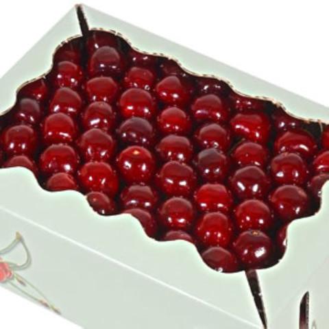 CHERRY FLAKY CAKE