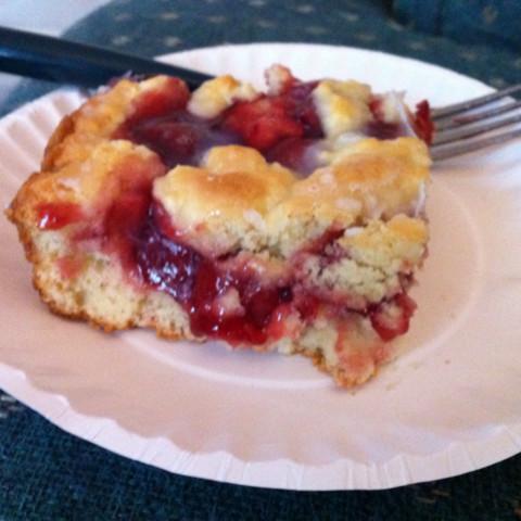 Cherry Swirl Coffee Cake (5 Pts)